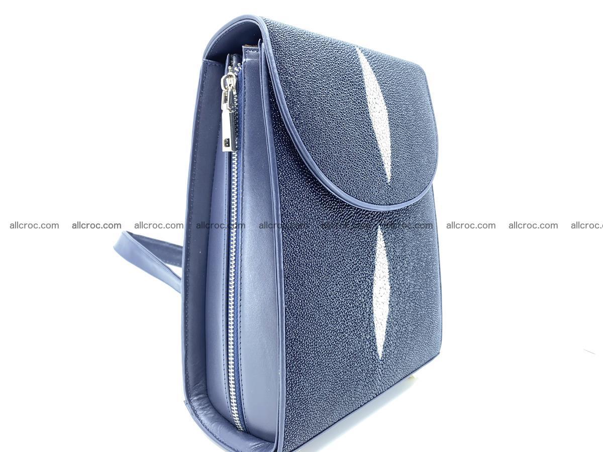 Stingray skin backpack 896 Foto 2