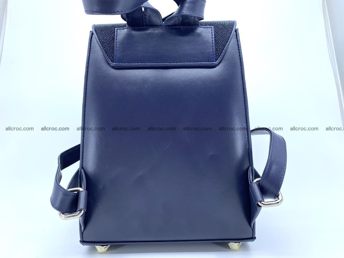 Stingray skin backpack 896 Foto 7
