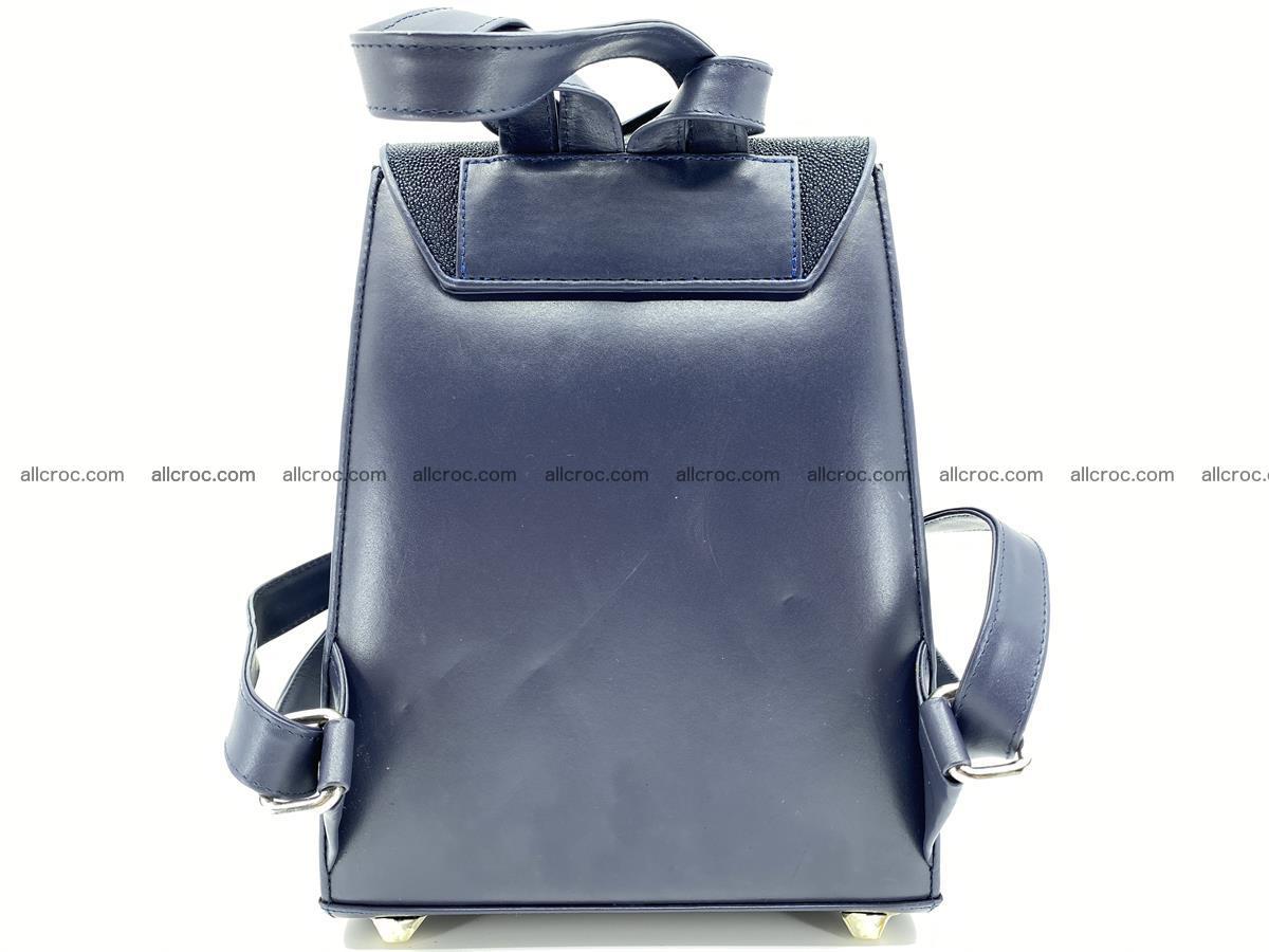 Stingray skin backpack 896 Foto 8