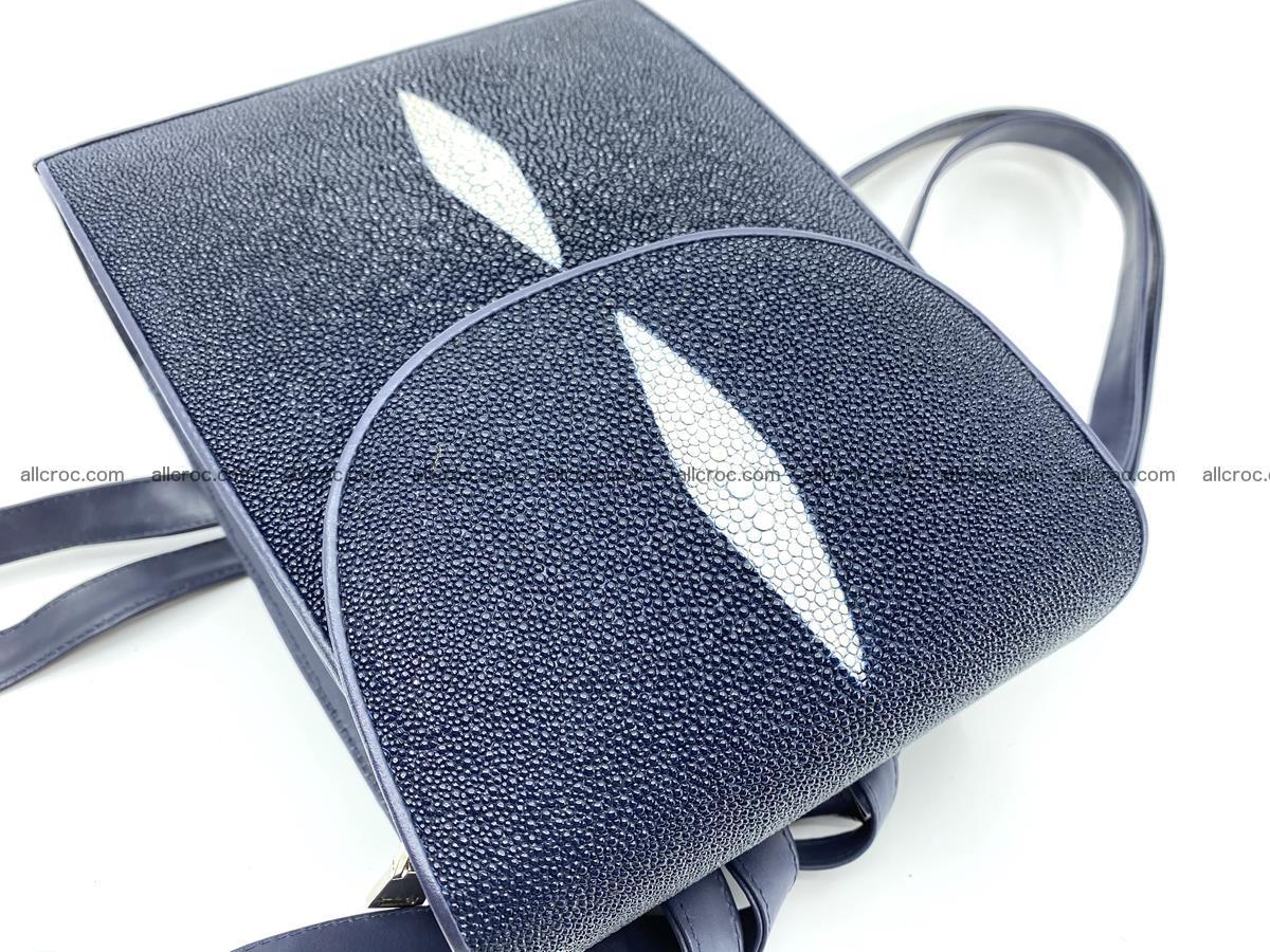Stingray skin backpack 896 Foto 3