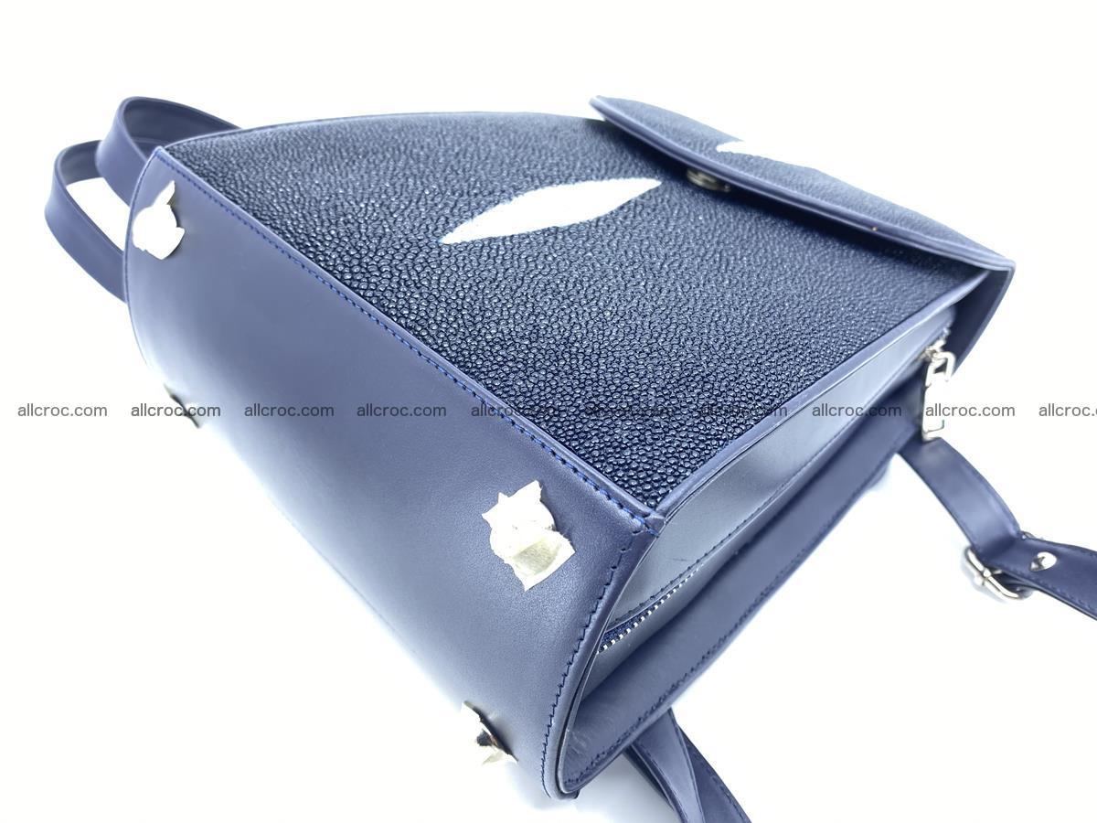 Stingray skin backpack 896 Foto 10