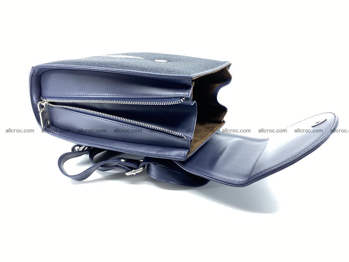 Stingray skin backpack 896 Foto 11