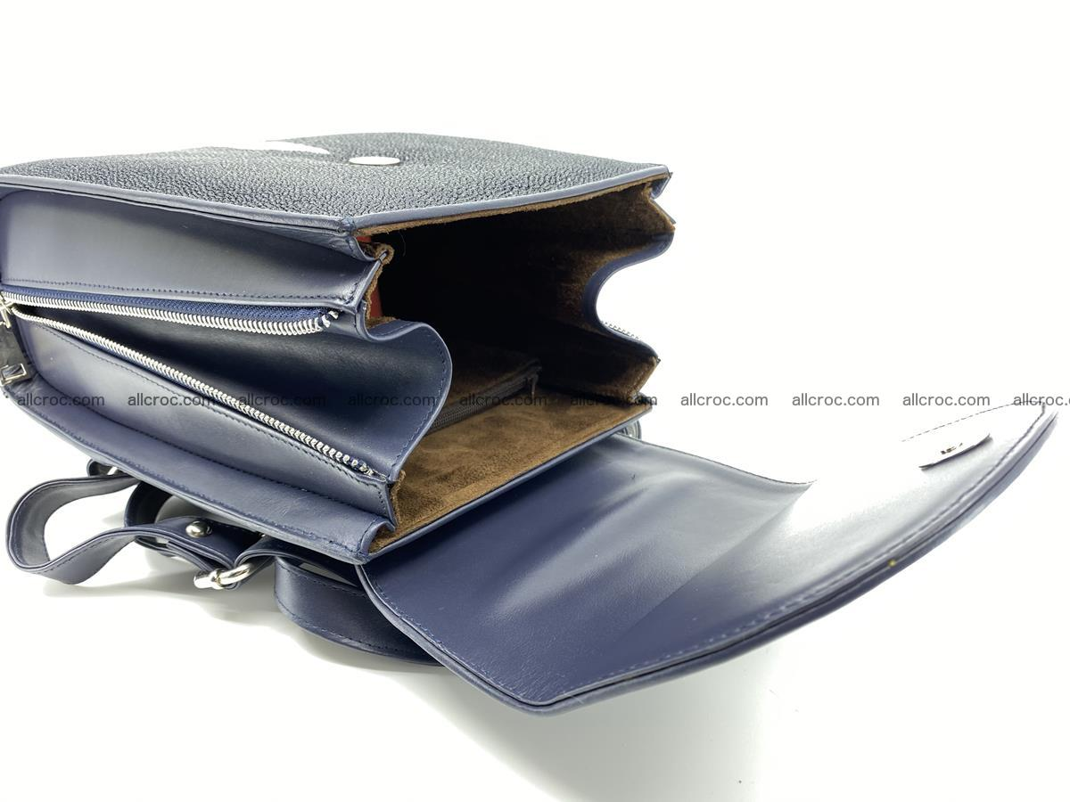 Stingray skin backpack 896 Foto 13