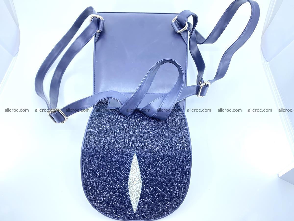 Stingray skin backpack 896 Foto 14