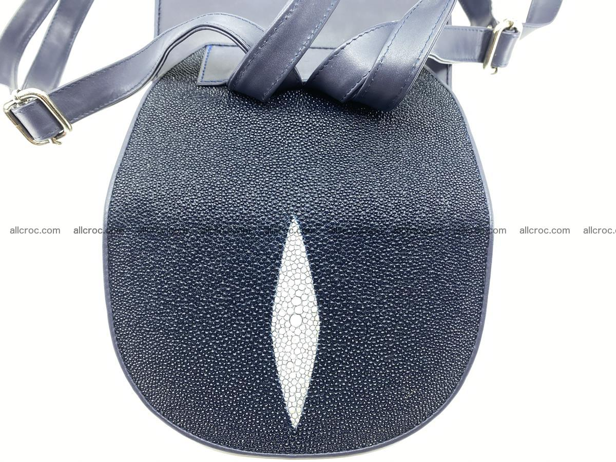 Stingray skin backpack 896 Foto 4
