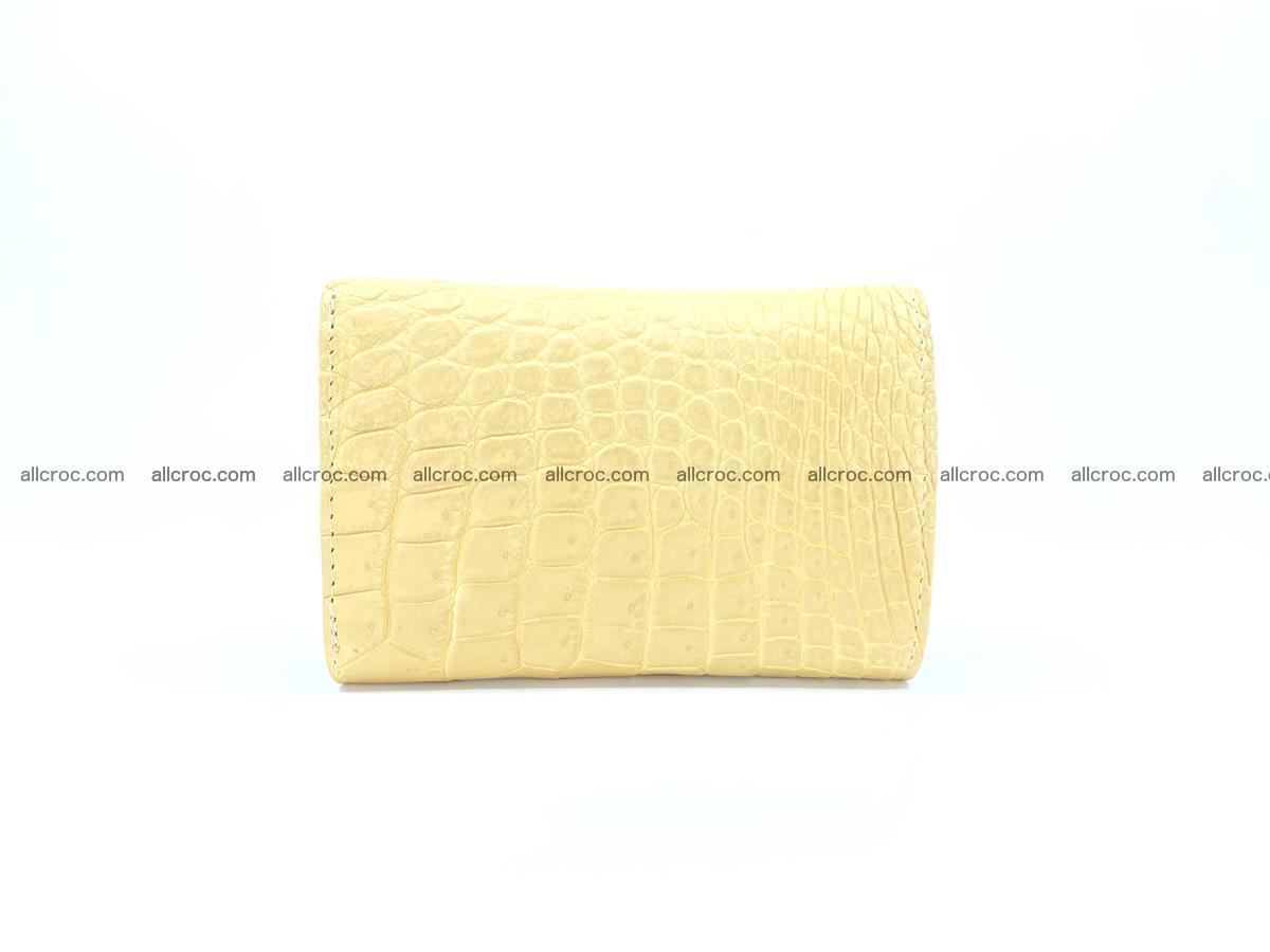 Women's crocodile skin wallet 1027 Foto 1