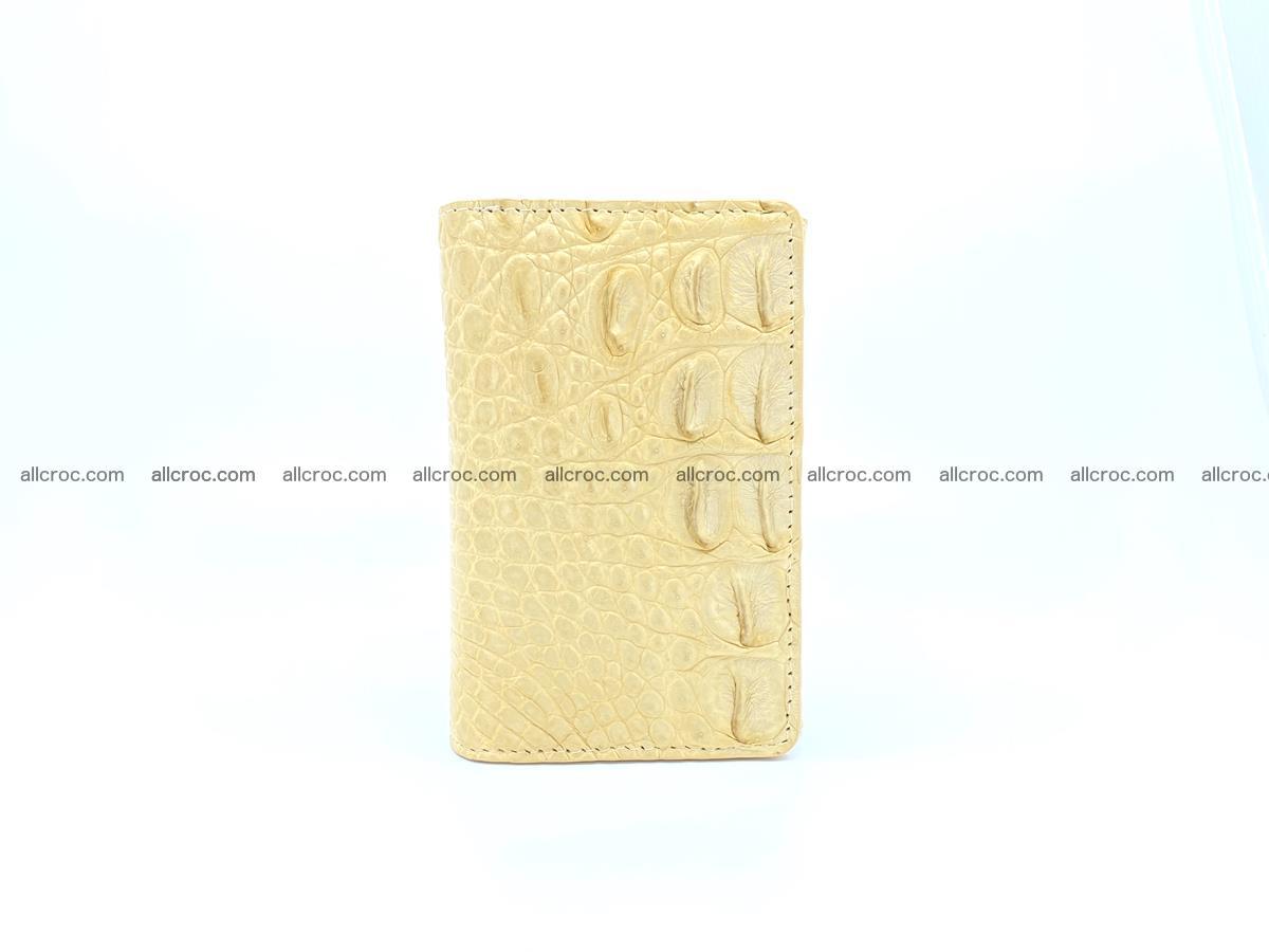 Women's crocodile skin wallet 1027 Foto 2
