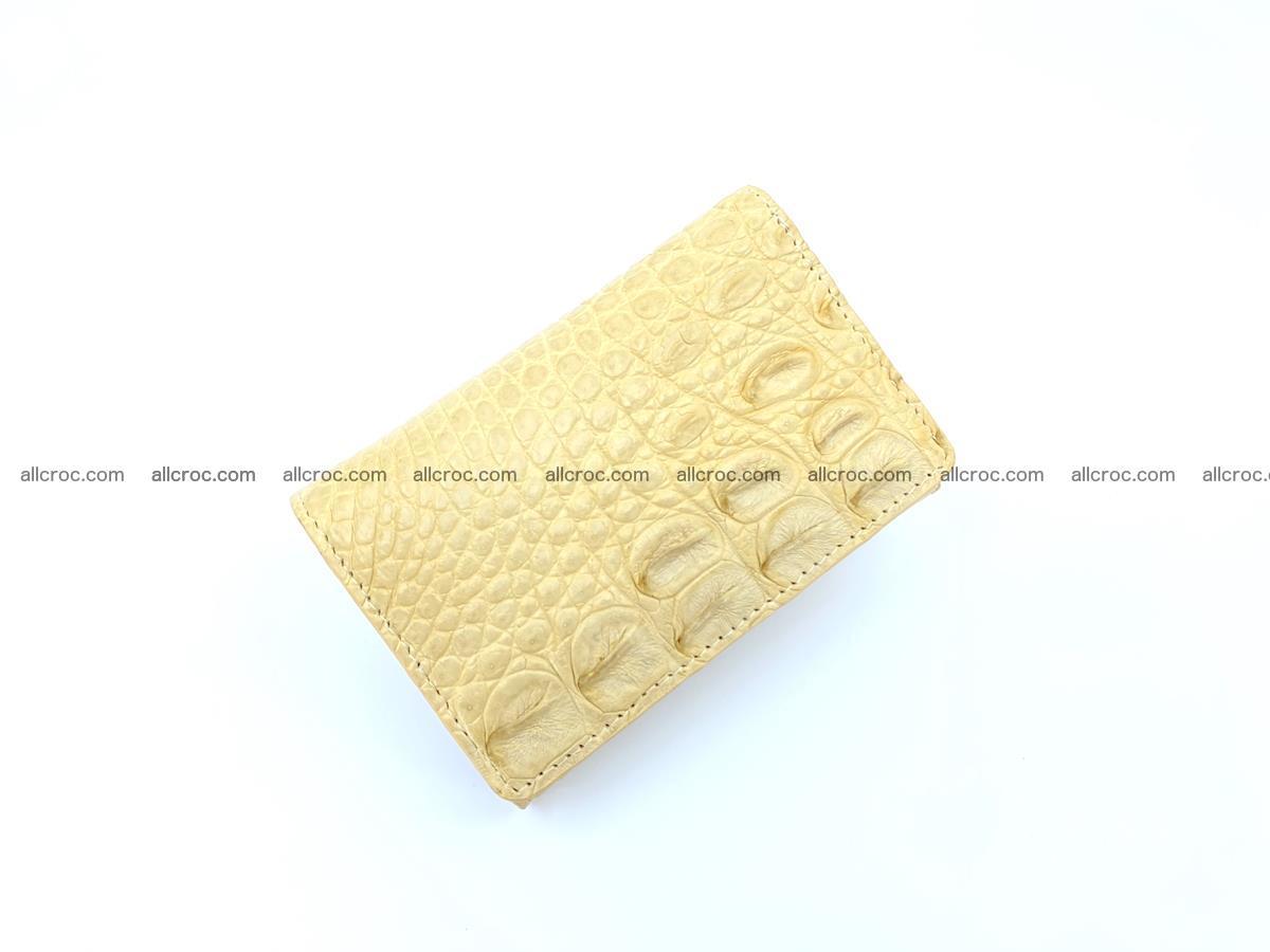 Women's crocodile skin wallet 1027 Foto 4
