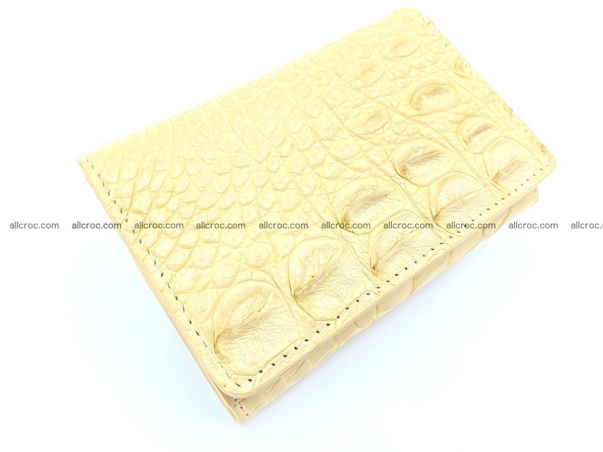 Women's crocodile skin wallet 1027 Foto 5