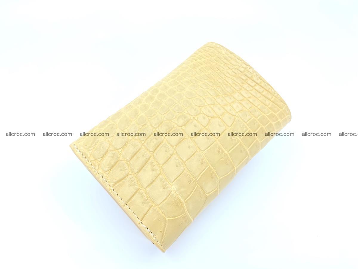 Women's crocodile skin wallet 1027 Foto 6