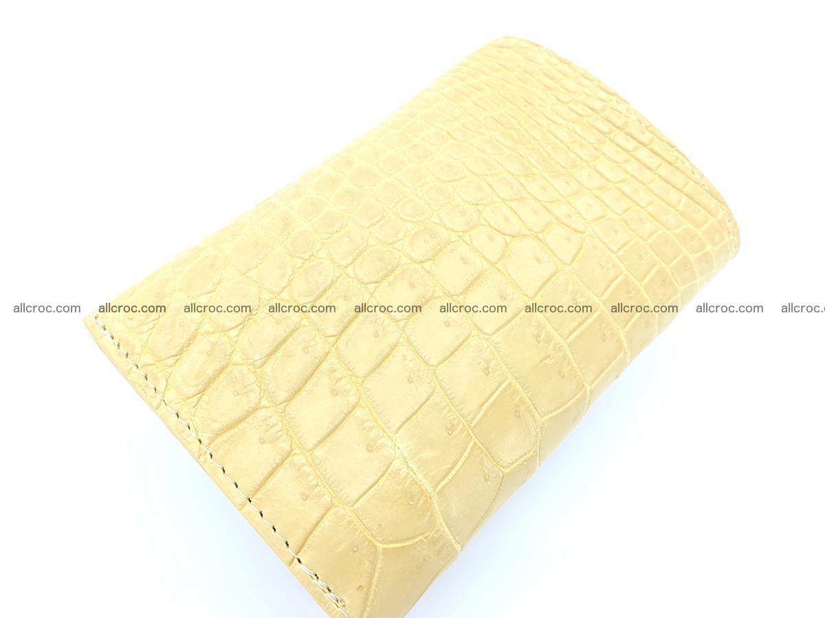 Women's crocodile skin wallet 1027 Foto 7