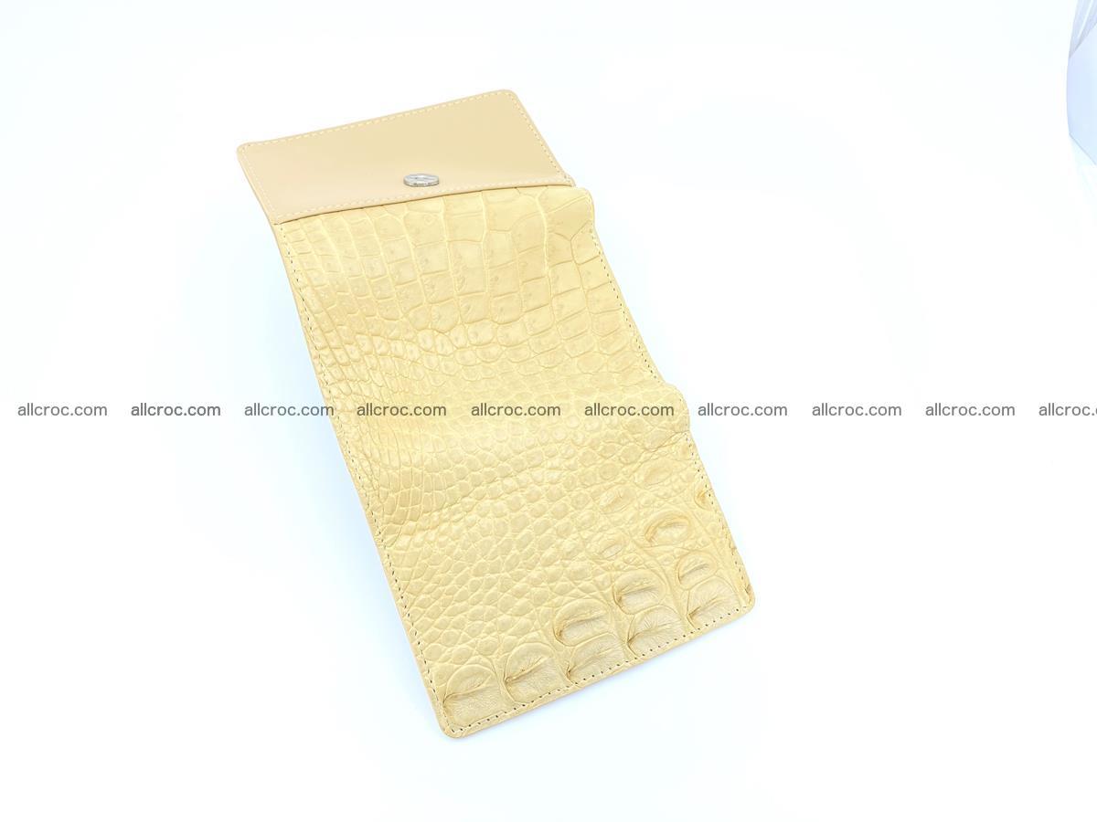 Women's crocodile skin wallet 1027 Foto 8