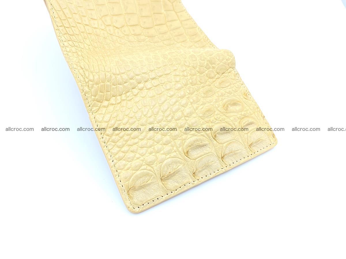 Women's crocodile skin wallet 1027 Foto 9