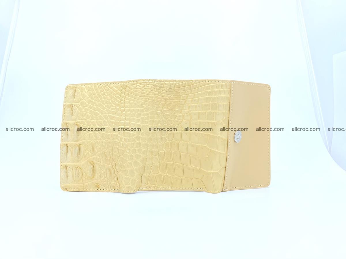 Women's crocodile skin wallet 1027 Foto 10
