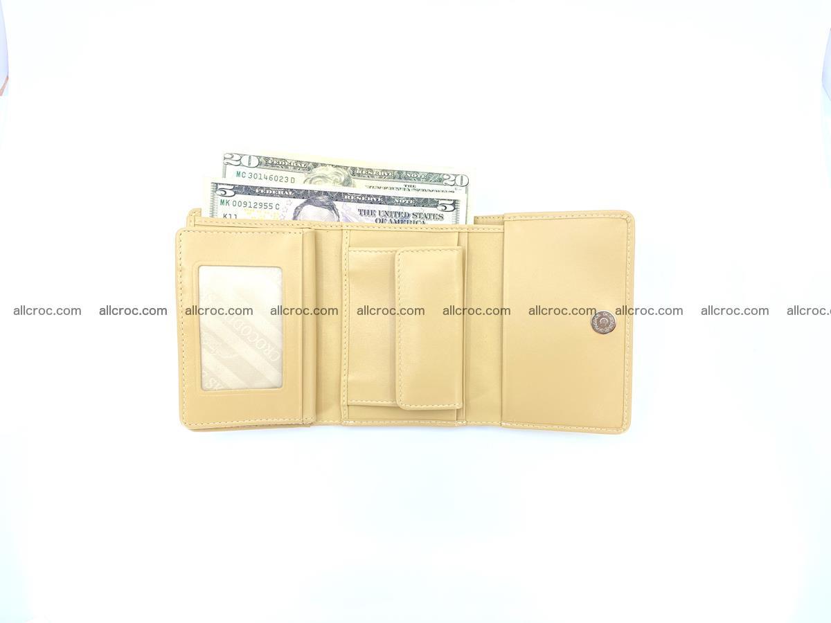 Women's crocodile skin wallet 1027 Foto 12
