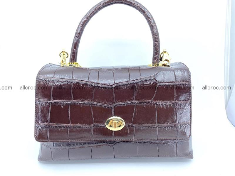 Crocodile skin handbag 922