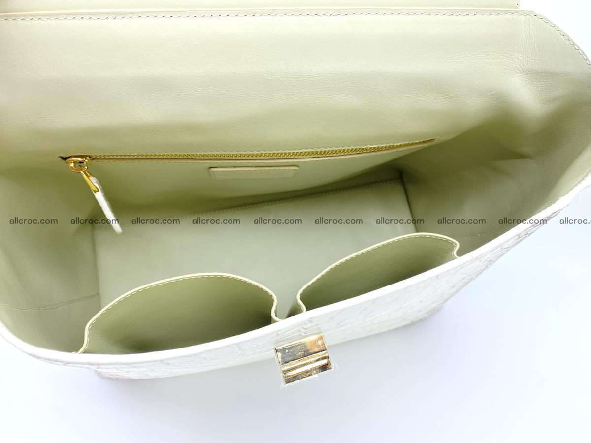 Women's crocodile skin handbag 1452 Foto 10
