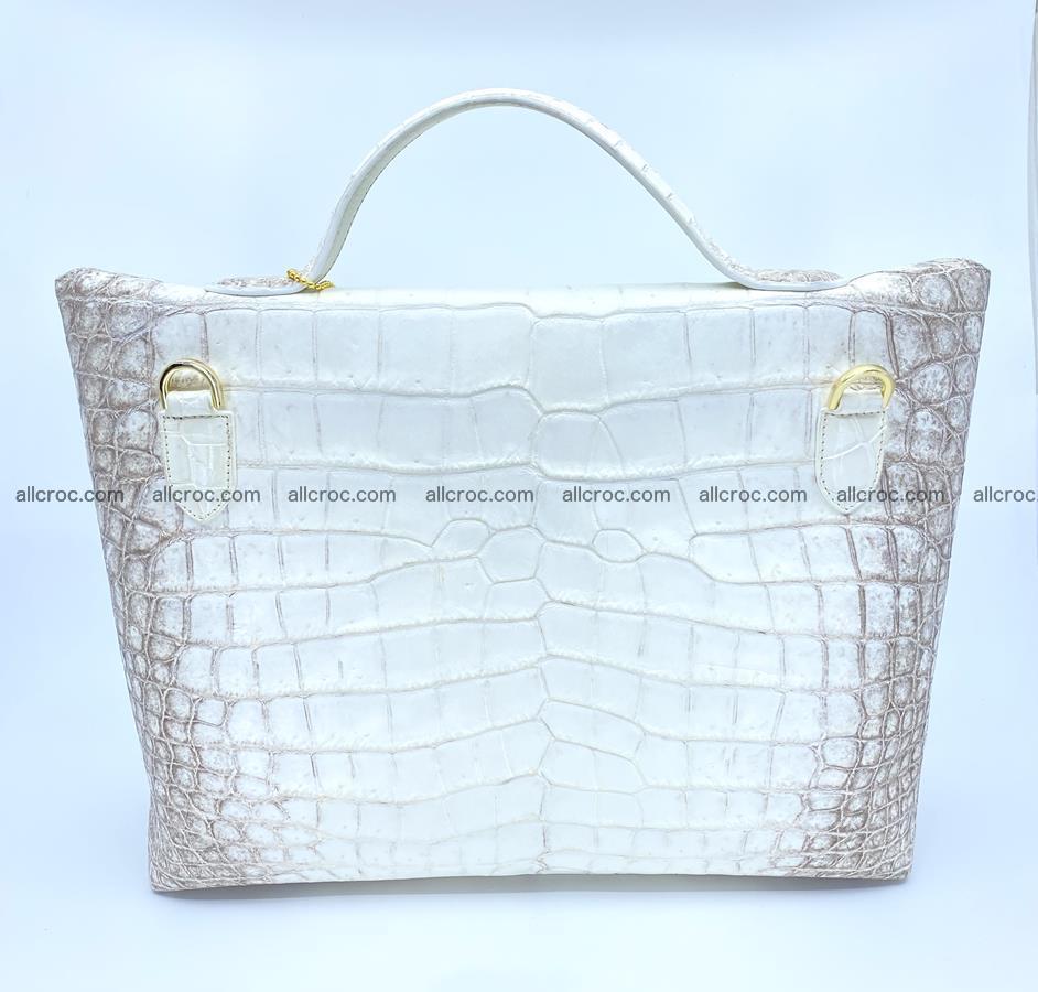 Women's crocodile skin handbag 1452 Foto 4
