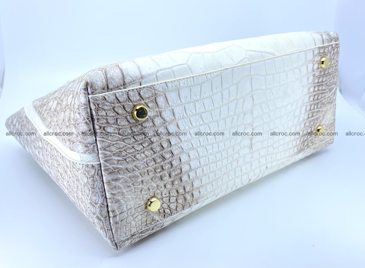 Women's crocodile skin handbag 1452 Foto 7