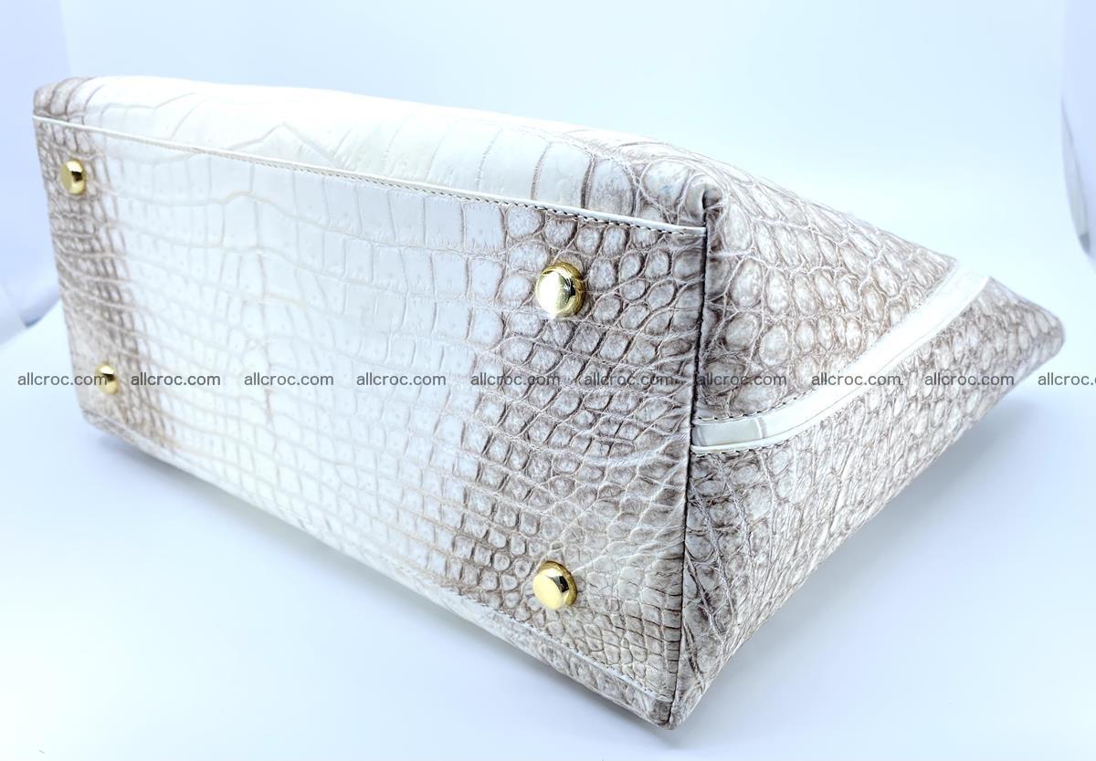 Women's crocodile skin handbag 1452 Foto 8