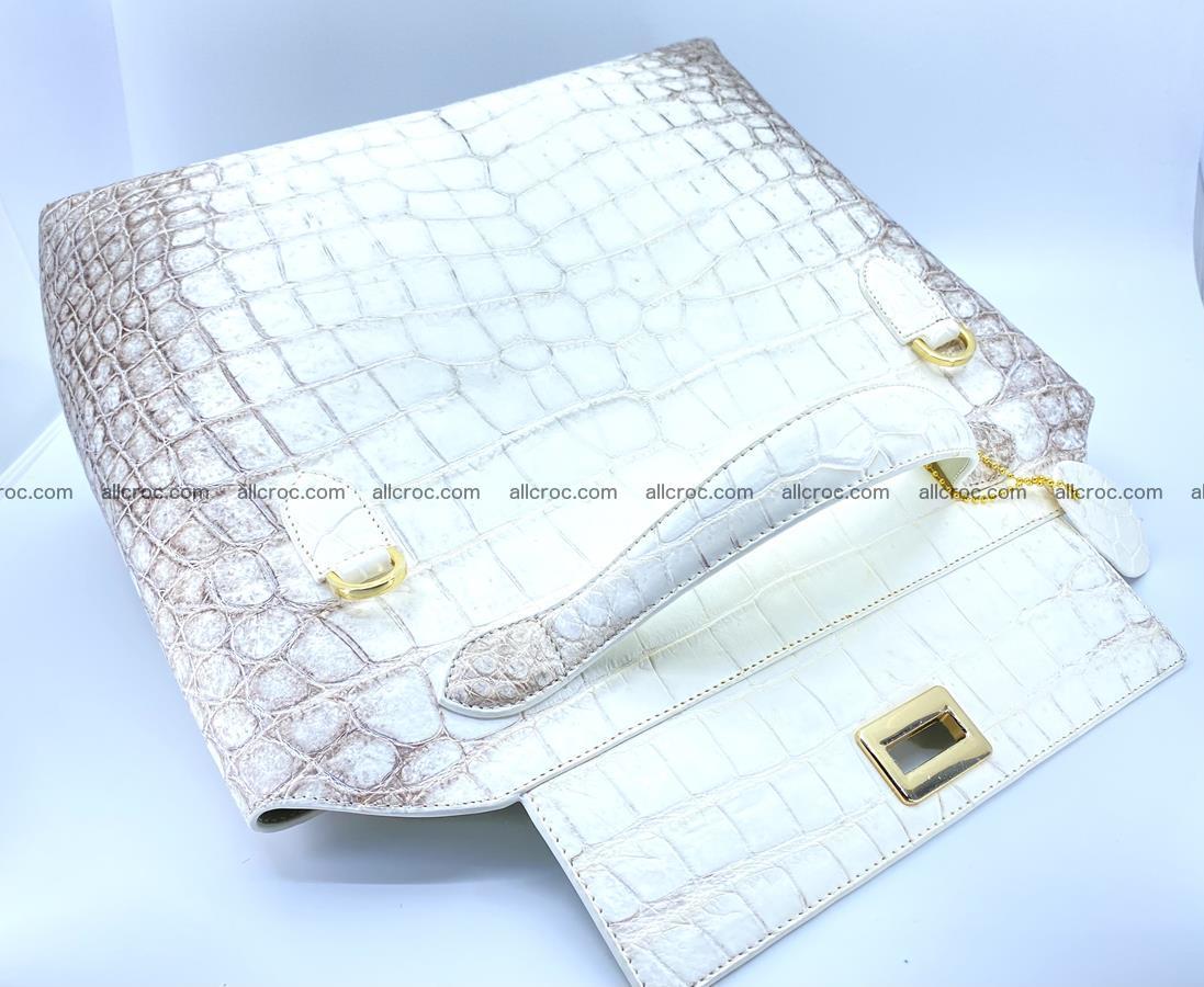 Women's crocodile skin handbag 1452 Foto 9