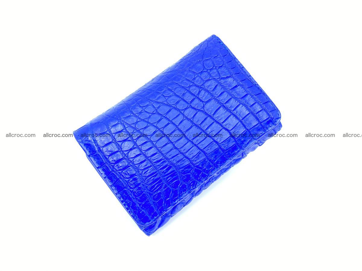 Women's crocodile skin wallet 1030 Foto 4