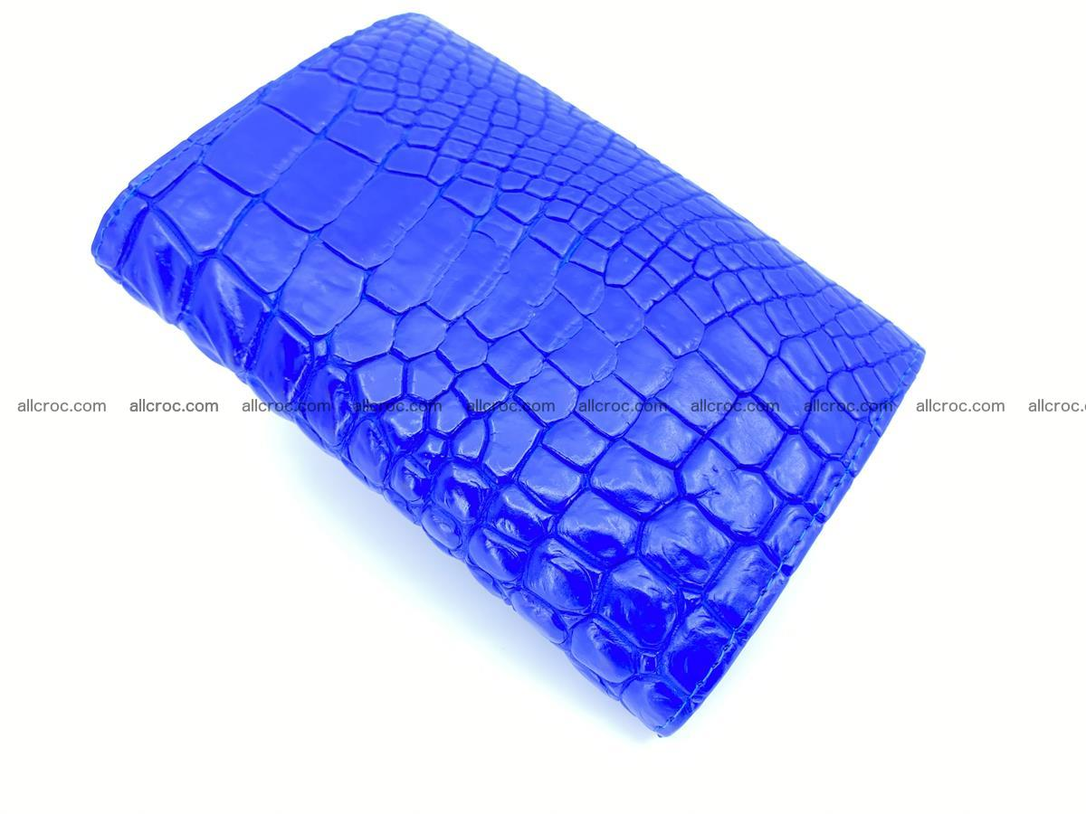Women's crocodile skin wallet 1030 Foto 7