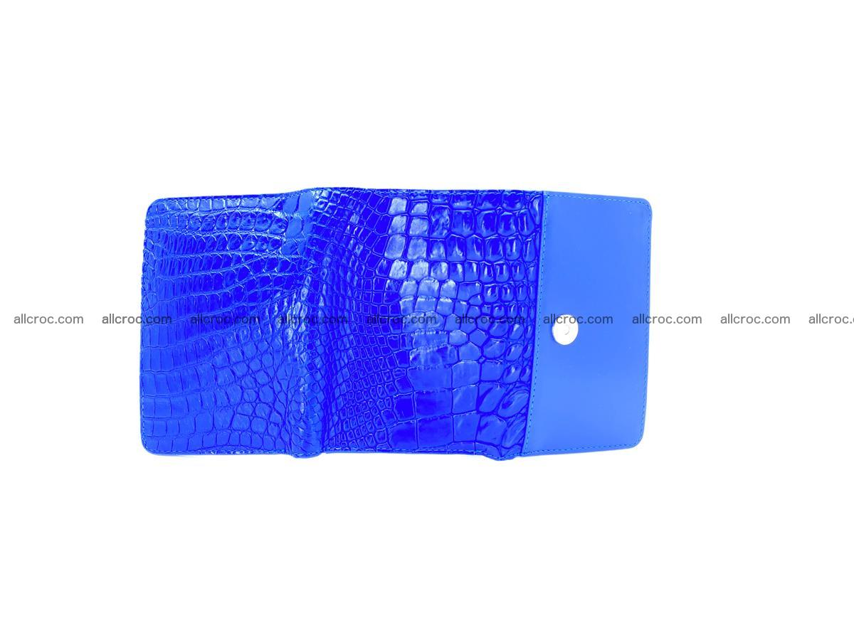 Women's crocodile skin wallet 1030 Foto 10