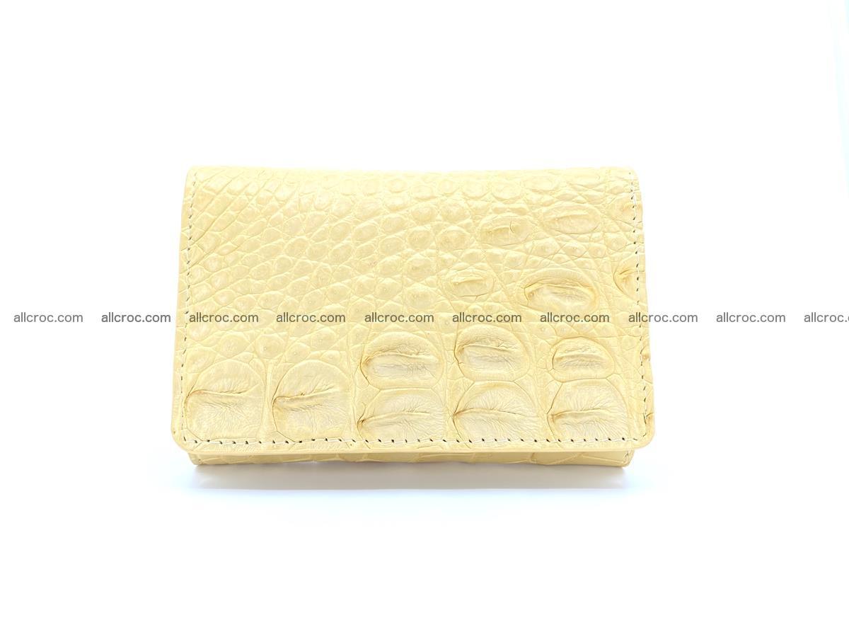 Women's crocodile skin wallet 1027 Foto 0