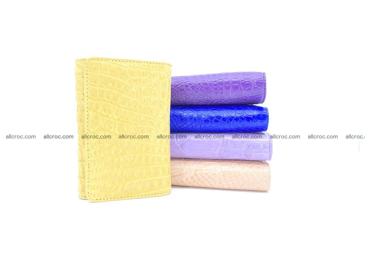 Women's crocodile skin wallet 1032 Foto 13