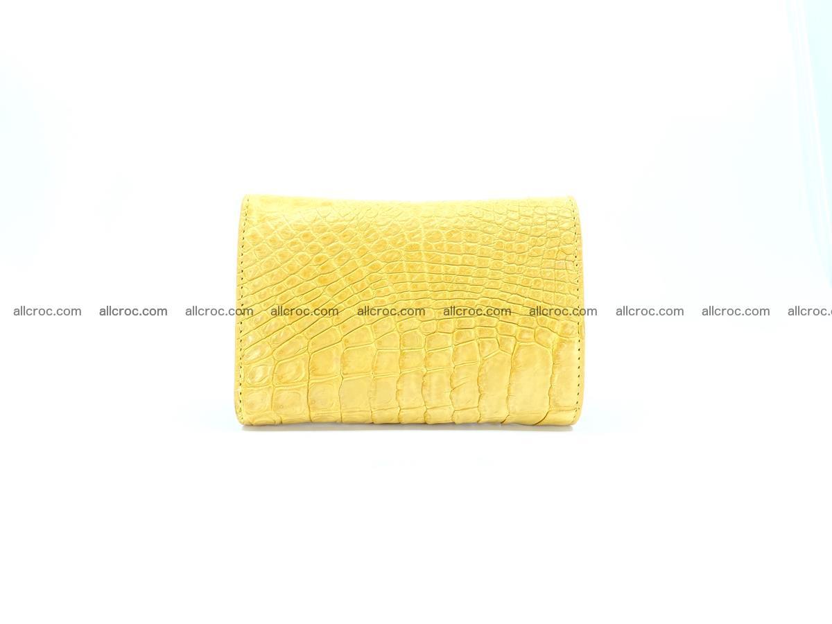 Women's crocodile skin wallet 1032 Foto 1