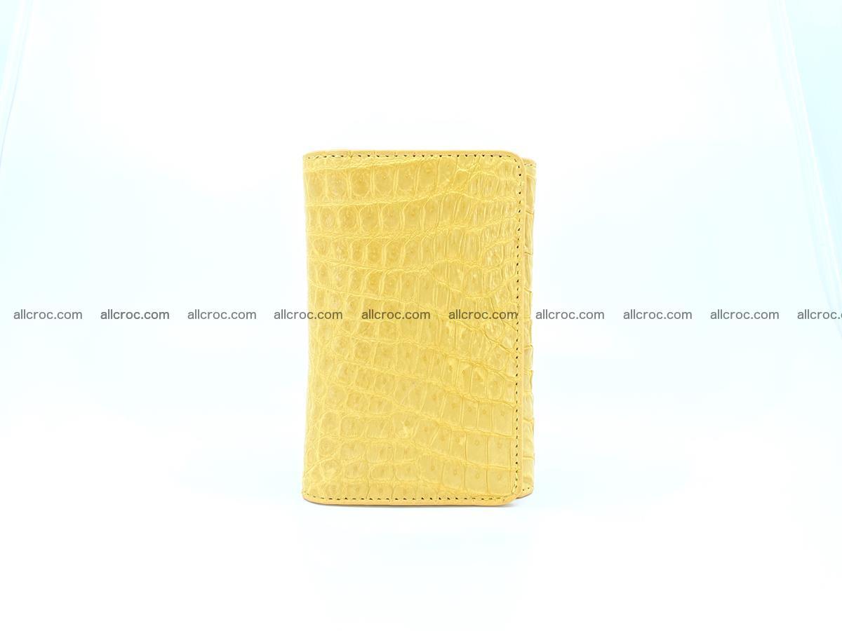 Women's crocodile skin wallet 1032 Foto 2