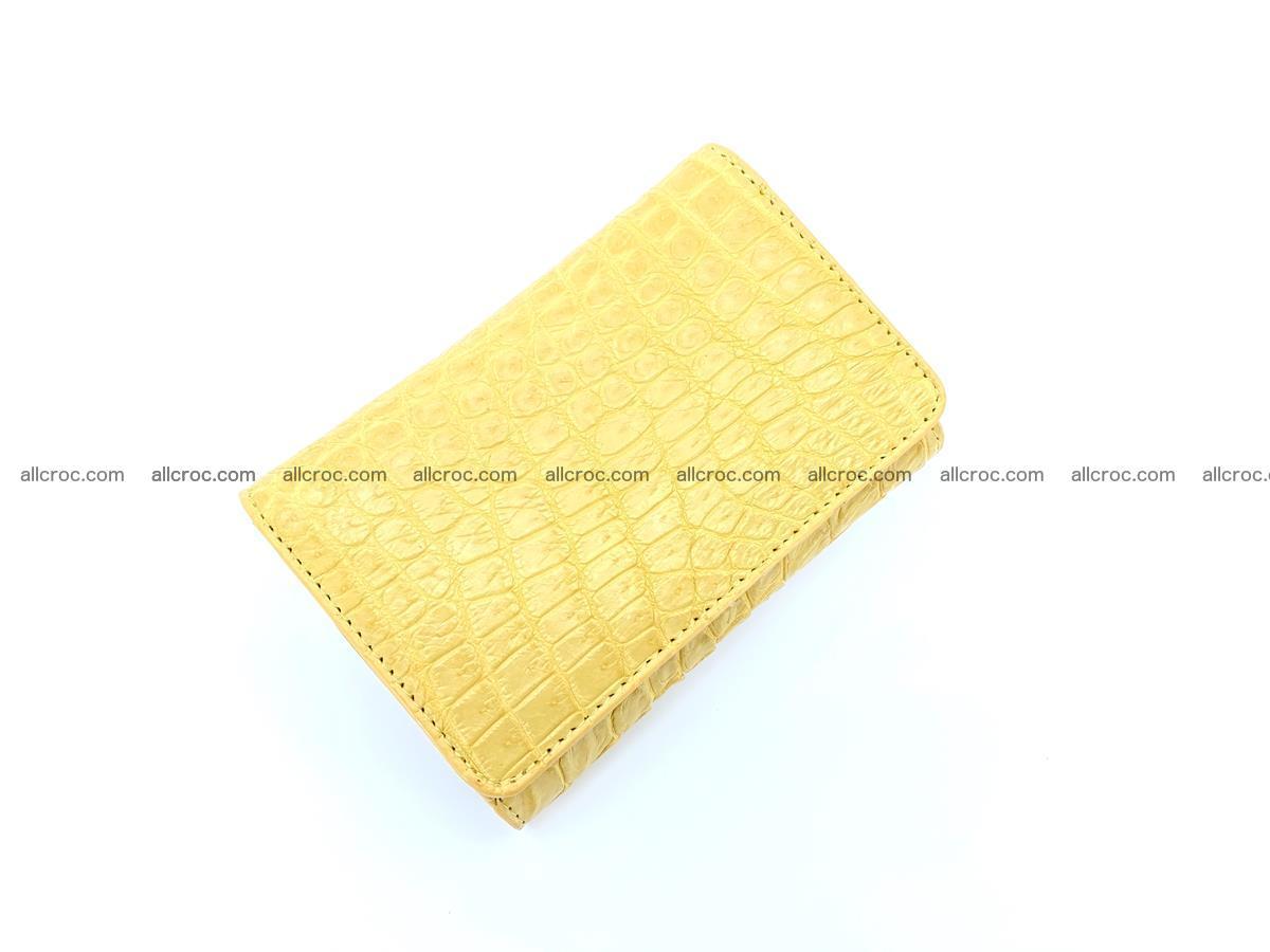 Women's crocodile skin wallet 1032 Foto 4