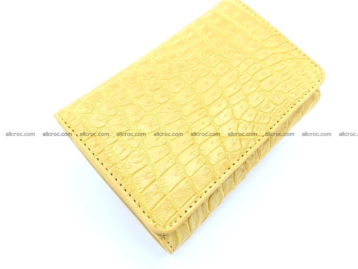 Women's crocodile skin wallet 1032 Foto 5