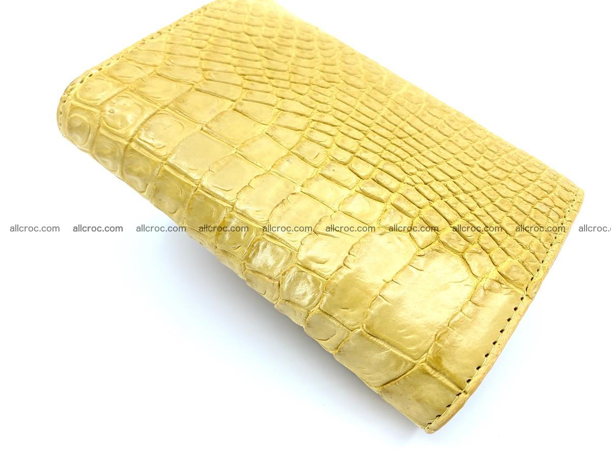 Women's crocodile skin wallet 1032 Foto 7