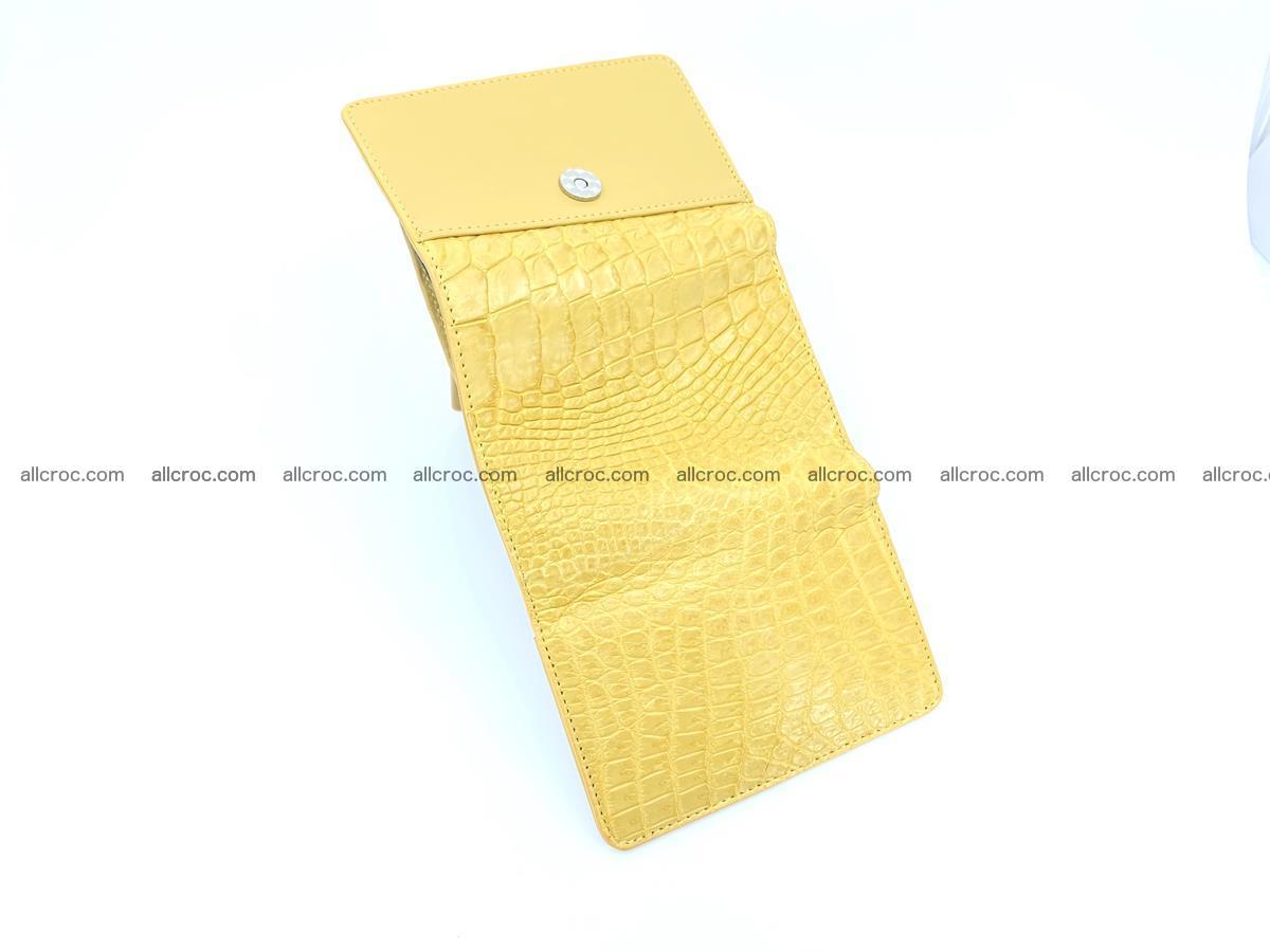 Women's crocodile skin wallet 1032 Foto 8