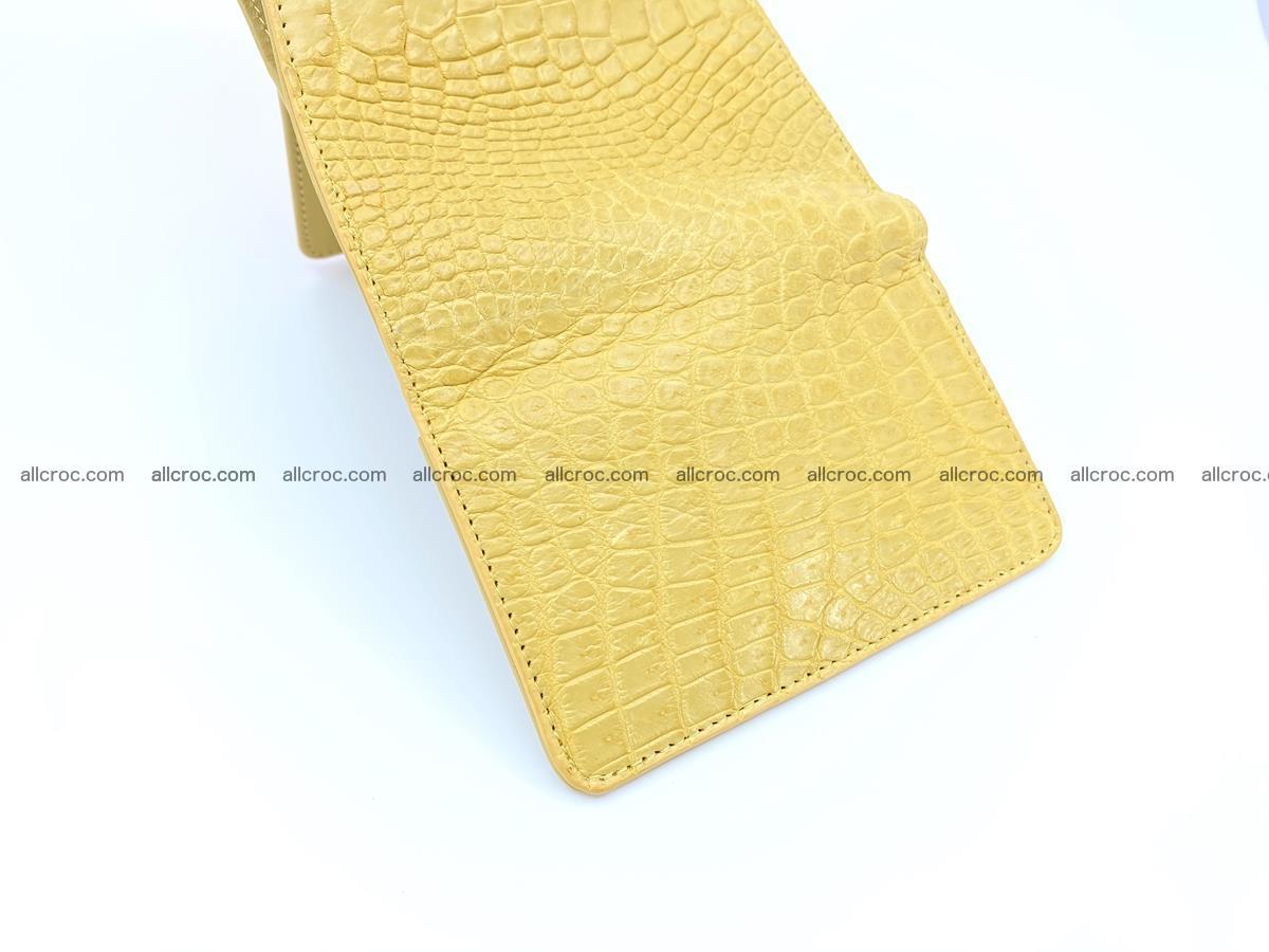 Women's crocodile skin wallet 1032 Foto 9