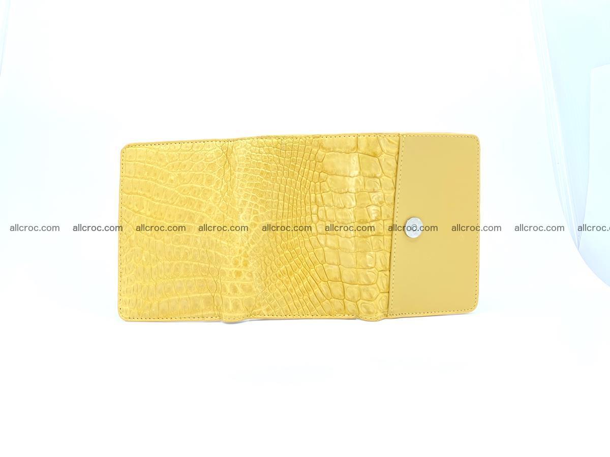 Women's crocodile skin wallet 1032 Foto 10