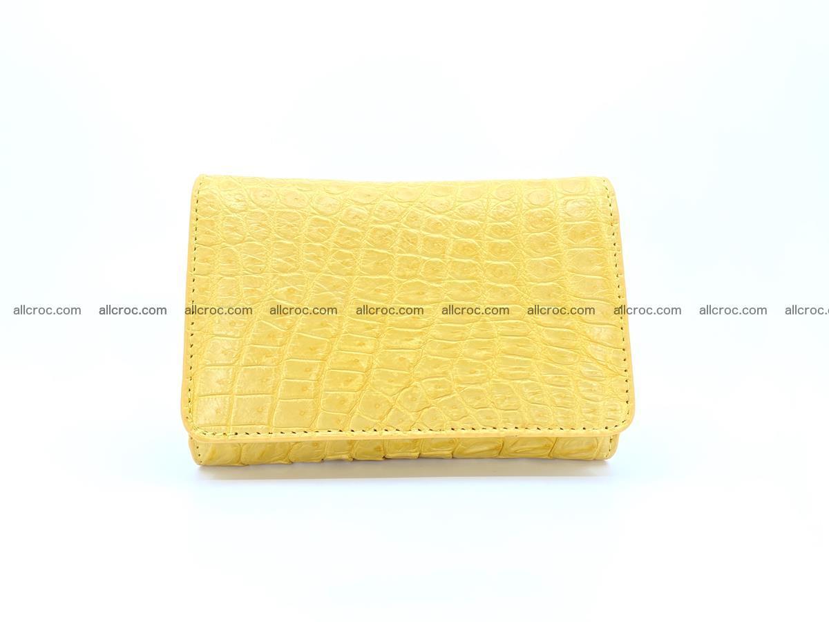 Women's crocodile skin wallet 1032 Foto 0