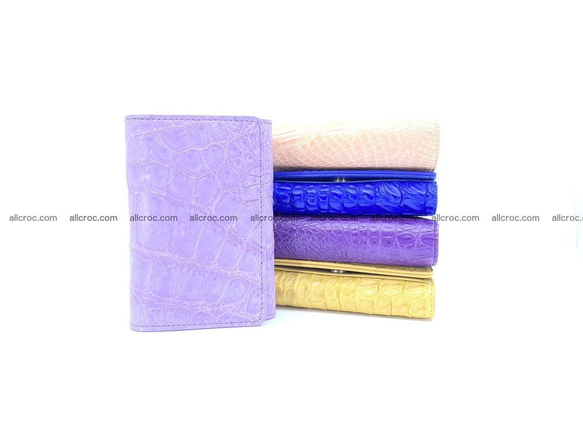 Women's crocodile skin wallet 1033 Foto 11