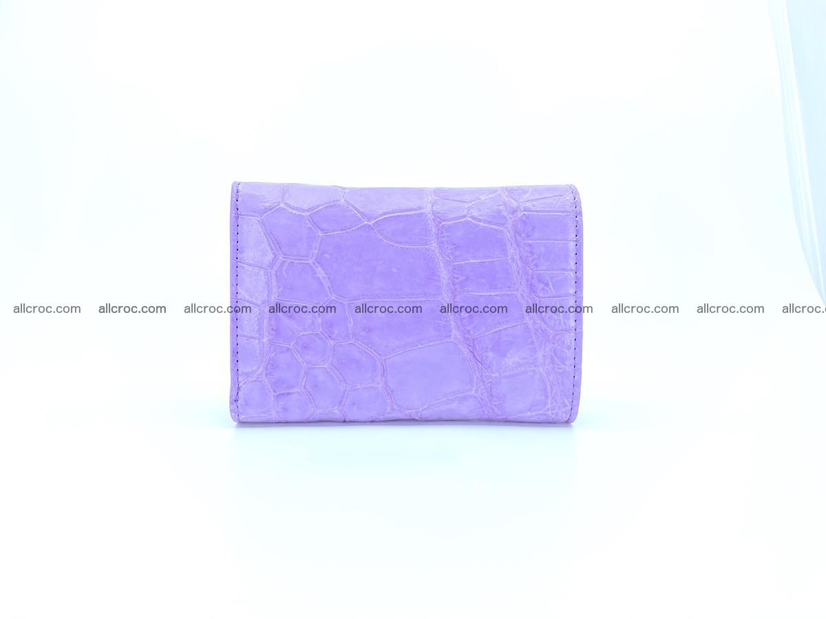 Women's crocodile skin wallet 1033 Foto 1