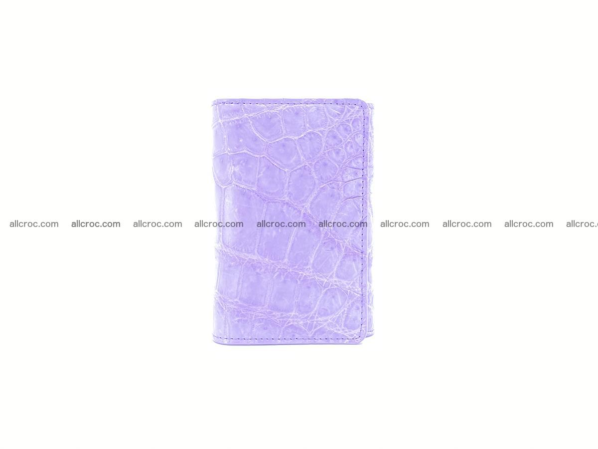 Women's crocodile skin wallet 1033 Foto 2