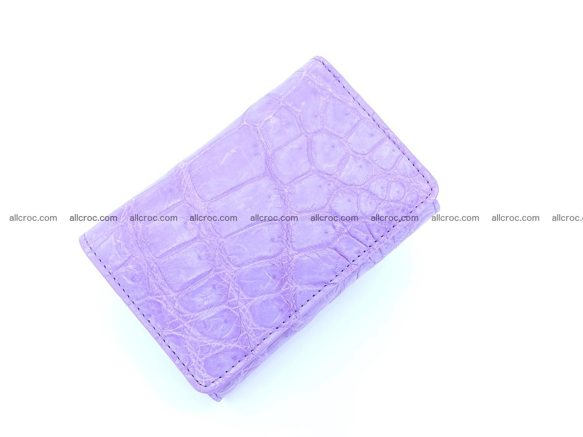 Women's crocodile skin wallet 1033 Foto 4