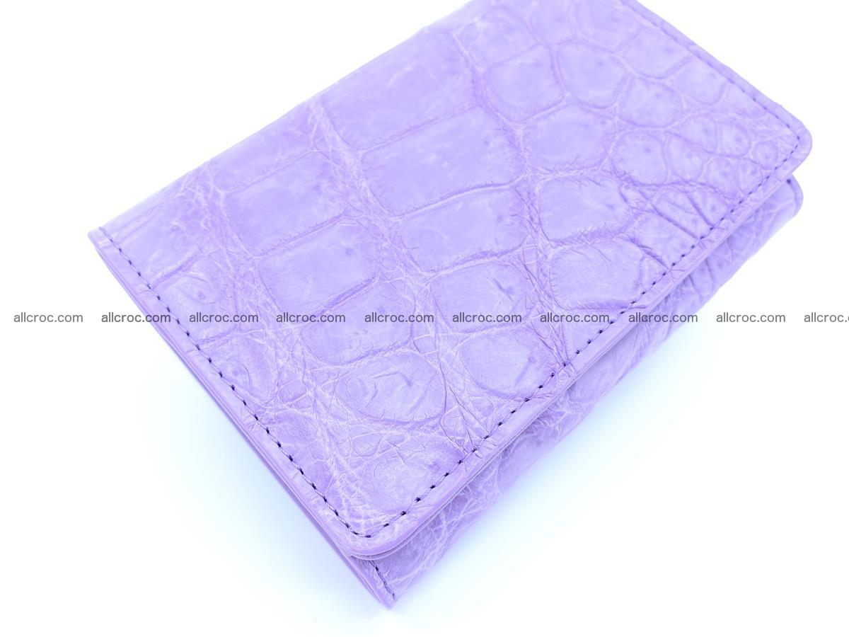 Women's crocodile skin wallet 1033 Foto 5