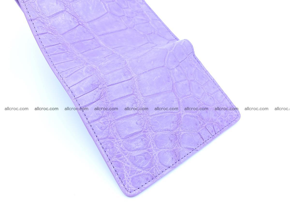 Women's crocodile skin wallet 1033 Foto 7