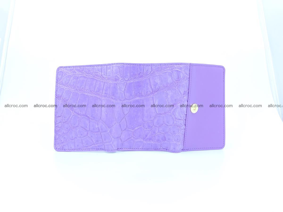 Women's crocodile skin wallet 1033 Foto 8