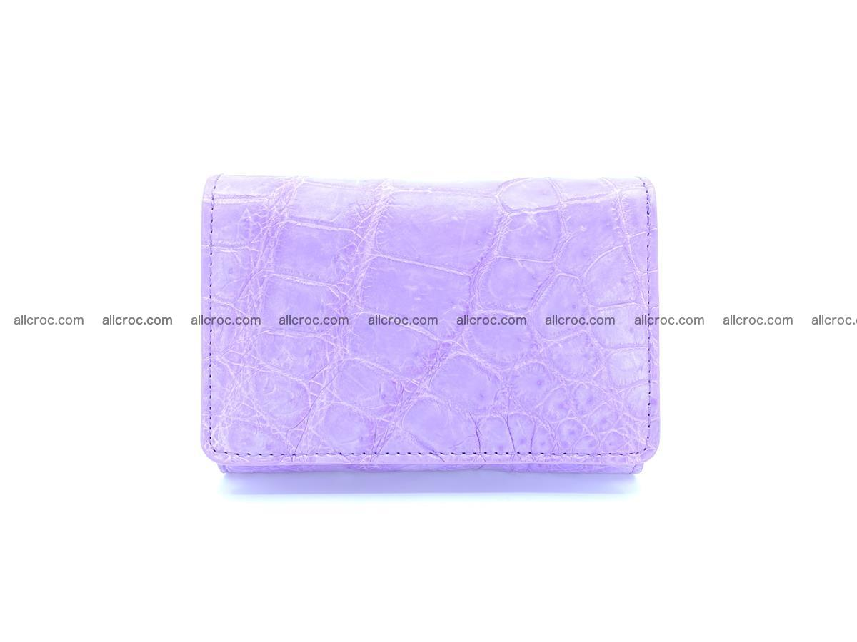 Women's crocodile skin wallet 1033 Foto 0