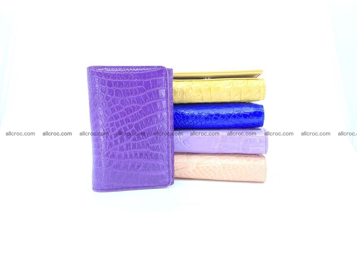 Women's crocodile skin wallet 1034 Foto 10