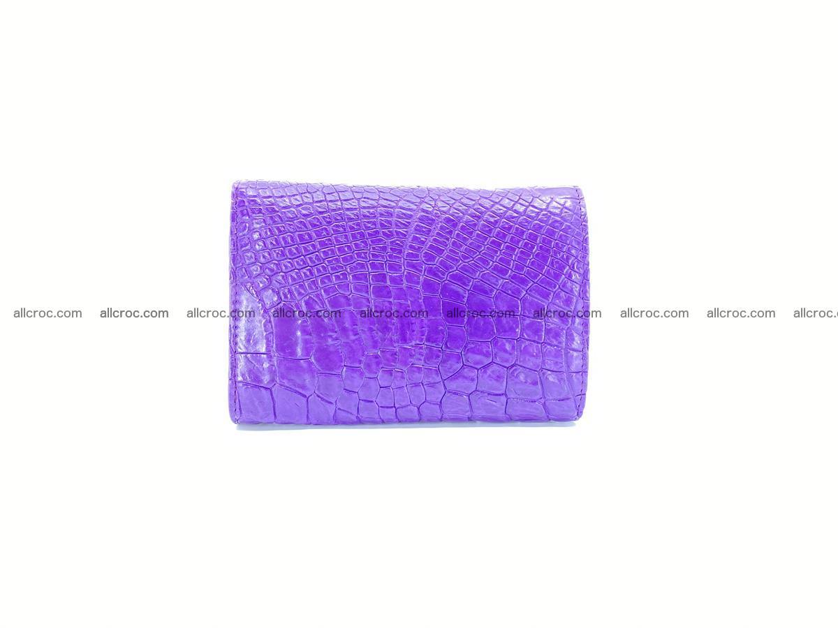 Women's crocodile skin wallet 1034 Foto 1