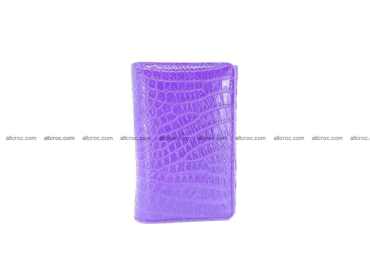 Women's crocodile skin wallet 1034 Foto 2